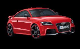 Red Audi Car