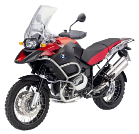 Red BMW R1200GS