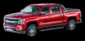 Red Chevrolet Silverado High Desert Car