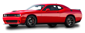 Red Dodge Challenger Car