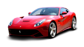 Red Ferrari F12 Berlinetta Car