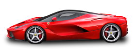 Red Ferrari LaFerrari Car
