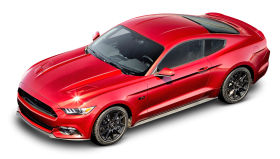 Red Ford Mustang GT Car