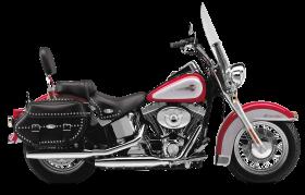 Red Harley Davidson