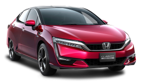 Red Honda Clarity Car