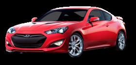 Red Hyundai Genesis Coupe Car