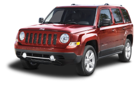 Red Jeep Patriot SUV Car