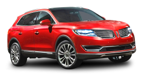 Red Lincoln MKX Car