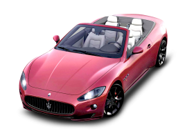 Red Maserati GranCarbio Sport Car