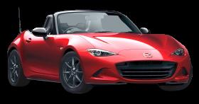 Red Mazda MX 5 Miata Car