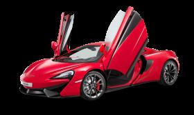 Red McLaren 540C Car