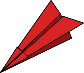 Red Paper Plane