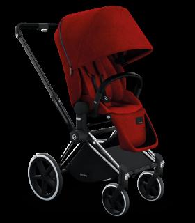 Red Pram Baby