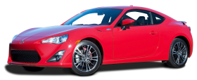 Red Scion FR S Car