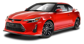 Red Scion TC Car