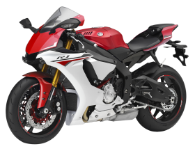 Red Yamaha YZF R1