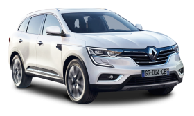 Renault Koleos White Car