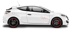 Renault Megane RS Trophy White Car