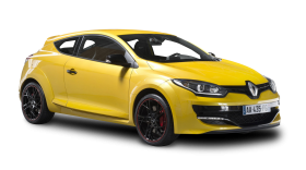 Renault Megane RS Yellow Car