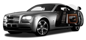 Rolls Royce Wraith Silver Car
