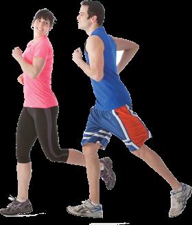 Running Man And Women