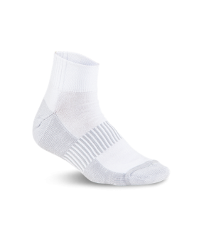 Running White Socks