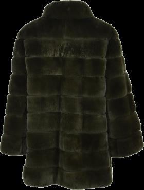 Salomon Womens Fur Coat Front Side