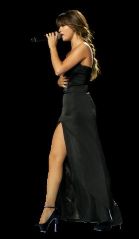 Selena Gomez Singing on Stage