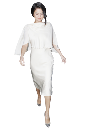 Selena Gomez White Dress