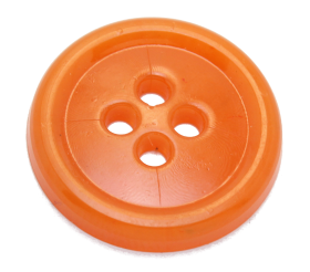 Sewing Orange Button