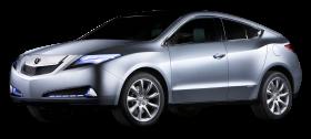 Silver Acura MDX Prototype Car