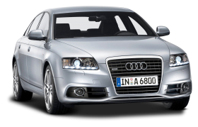 Silver Audi Car