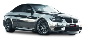 Silver BMW M3 Coupe Car