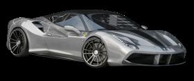 Silver Ferrari 488 GTB Car