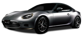 Silver Toyota 86 Style Cb Car