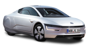 Silver Volkswagen XL1 Car