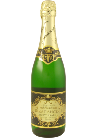 Sparkling Wine From A Bottle