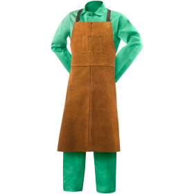 Steiner Leather Bib Apron