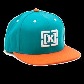 Stylish Cap With White K Logo