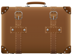 Suitcase Brown