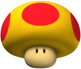 Super Mario Mega Mushroom Png Image Purepng Free