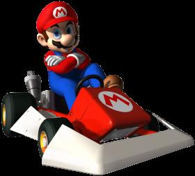 Super Mario On Cart