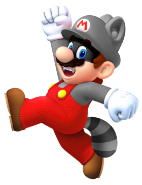 Super Mario  Raccoon