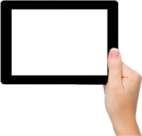 Tablet In Hand