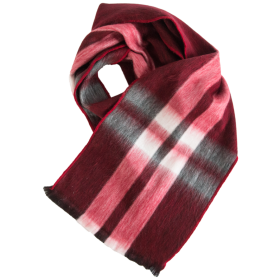Tartan Rectangular Currant Scarf