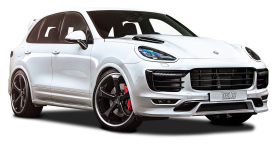 Techart Porsche Cayenne White Car