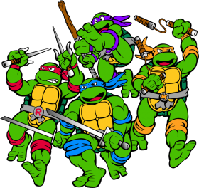 Teenage Mutant Ninja Turtle's