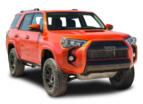 Toyota TRD Pro Orange Hill Car
