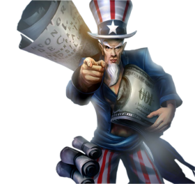 Uncle Ryze Skin LoL American