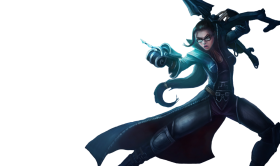 Vindicator Vayne Skin LoL Splashart